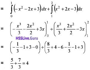 Plus Two Maths Integrals 3 Mark Questions and Answers 56