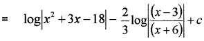 Plus Two Maths Integrals 3 Mark Questions and Answers 66