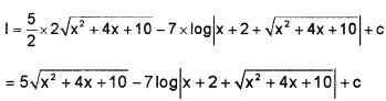 Plus Two Maths Integrals 3 Mark Questions and Answers 71