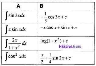 Plus Two Maths Integrals 3 Mark Questions and Answers 78