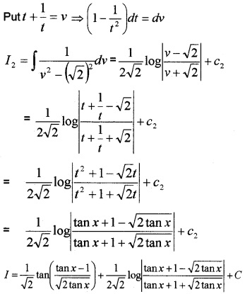 Plus Two Maths Integrals 3 Mark Questions and Answers 84