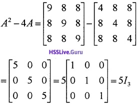 Plus Two Maths Matrices 3 Mark Questions and Answers 35