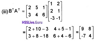 Plus Two Maths Matrices 3 Mark Questions and Answers 54