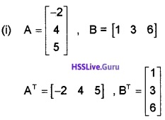 Plus Two Maths Matrices 3 Mark Questions and Answers 55