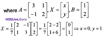 Plus Two Maths Matrices 6 Mark Questions and Answers 61