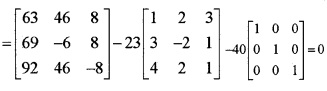 Plus Two Maths Matrices 6 Mark Questions and Answers 63
