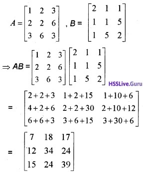 Plus Two Maths Matrices 6 Mark Questions and Answers 66