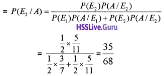 Plus Two Maths Probability 4 Mark Questions and Answers 11