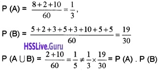 Plus Two Maths Probability 4 Mark Questions and Answers 36