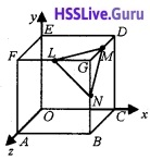 Plus Two Maths Vector Algebra 3 Mark Questions and Answers 45
