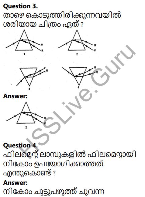 Kerala SSLC Physics Model Question Paper 1 Malayalam Medium 2