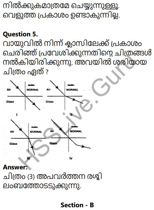 Kerala SSLC Physics Model Question Paper 1 Malayalam Medium 3