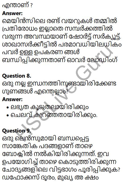 Kerala SSLC Physics Model Question Paper 1 Malayalam Medium 5