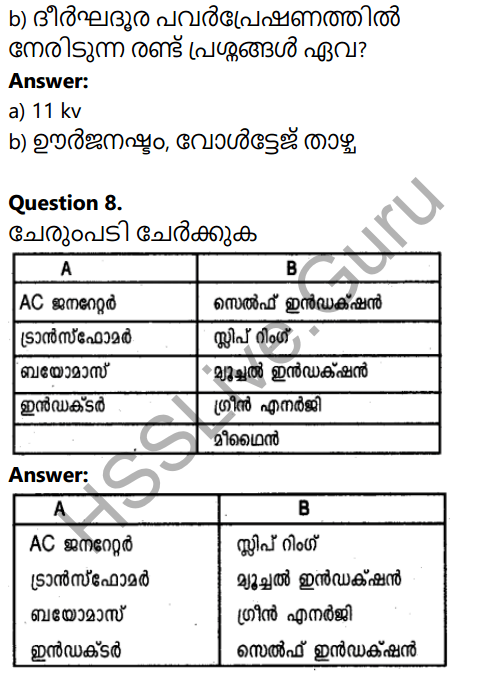 Kerala SSLC Physics Model Question Paper 3 Malayalam Medium 4