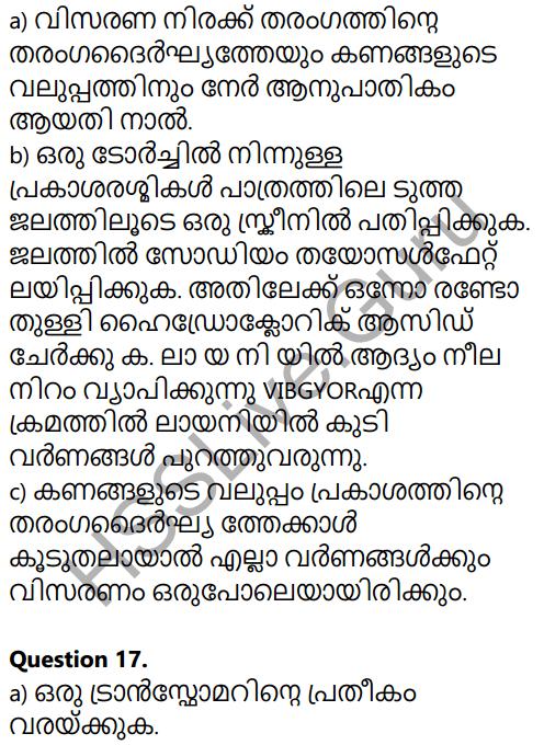 Kerala SSLC Physics Model Question Paper 4 Malayalam Medium 13