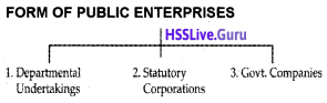 Plus One Business Studies Notes Chapter 3 Private, Public and Global Enterprises 1