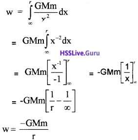 Plus One Physics Chapter Wise Questions and Answers Chapter 8 Gravitation - 19