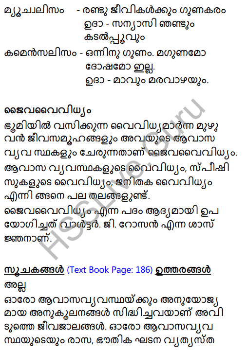 Kerala Syllabus 8th Standard Basic Science Solutions Chapter 13 Diversity for Sustenance in Malayalam 6