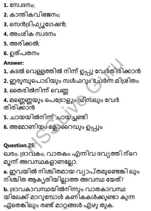Kerala Syllabus 8th Standard Basic Science Solutions Chapter 4 Properties of Matter in Malayalam 22