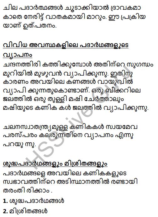 Kerala Syllabus 8th Standard Basic Science Solutions Chapter 4 Properties of Matter in Malayalam 31