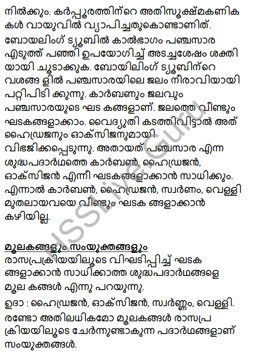 Kerala Syllabus 8th Standard Basic Science Solutions Chapter 5 Basic Constituents of Matter in Malayalam 25