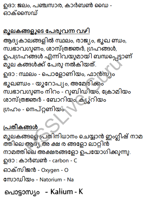 Kerala Syllabus 8th Standard Basic Science Solutions Chapter 5 Basic Constituents of Matter in Malayalam 26