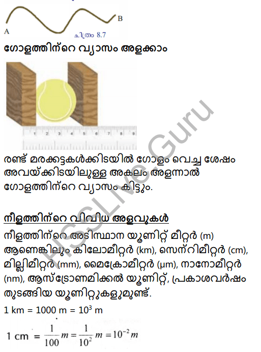 Kerala Syllabus 8th Standard Basic Science Solutions Chapter 8 Measurements and Units in Malayalam 18