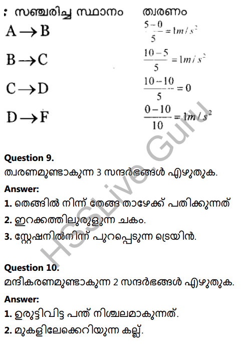 Kerala Syllabus 8th Standard Basic Science Solutions Chapter 9 Motion in Malayalam 13