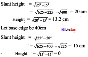 Kerala Syllabus 10th Standard Maths Solutions Chapter 8 Solids - 11