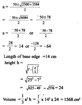 Kerala Syllabus 10th Standard Maths Solutions Chapter 8 Solids - 17