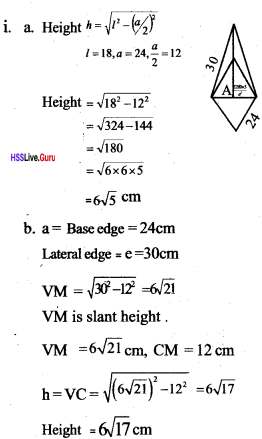 Kerala Syllabus 10th Standard Maths Solutions Chapter 8 Solids - 7