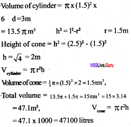 Kerala Syllabus 10th Standard Maths Solutions Chapter 8 Solids - 75