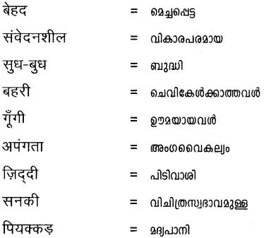 Plus One Hindi Textbook Answers Unit 2 Chapter 6 ब्लैक स्पर्श जहाँ भाषा बनता है 9