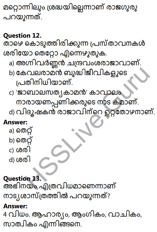 Plus Two Malayalam Textbook Answers Unit 2 Chapter 2 Agnivarnante Kalukal 4