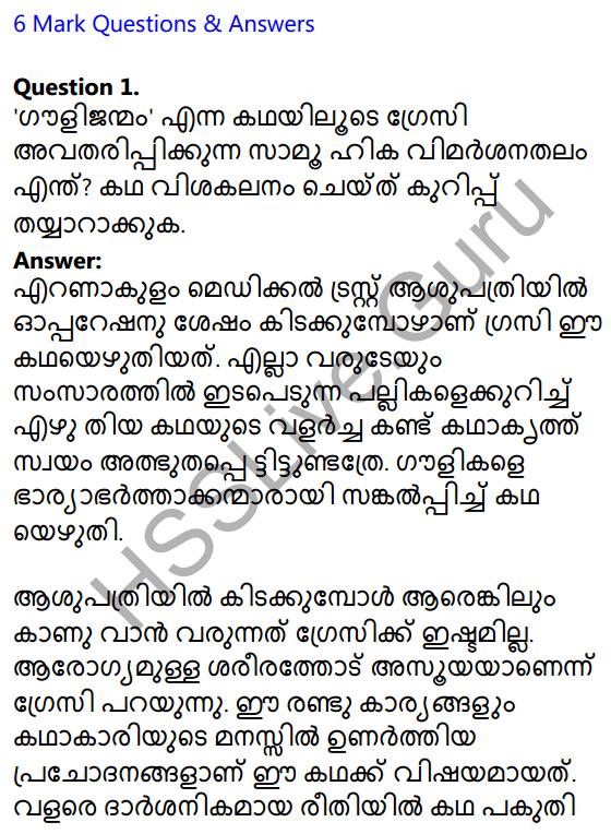Plus Two Malayalam Textbook Answers Unit 3 Chapter 2 Gauli Janmam 15