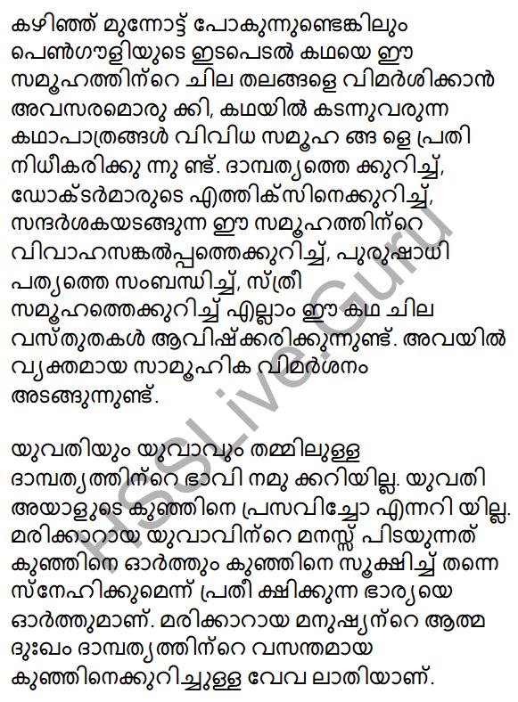 Plus Two Malayalam Textbook Answers Unit 3 Chapter 2 Gauli Janmam 16