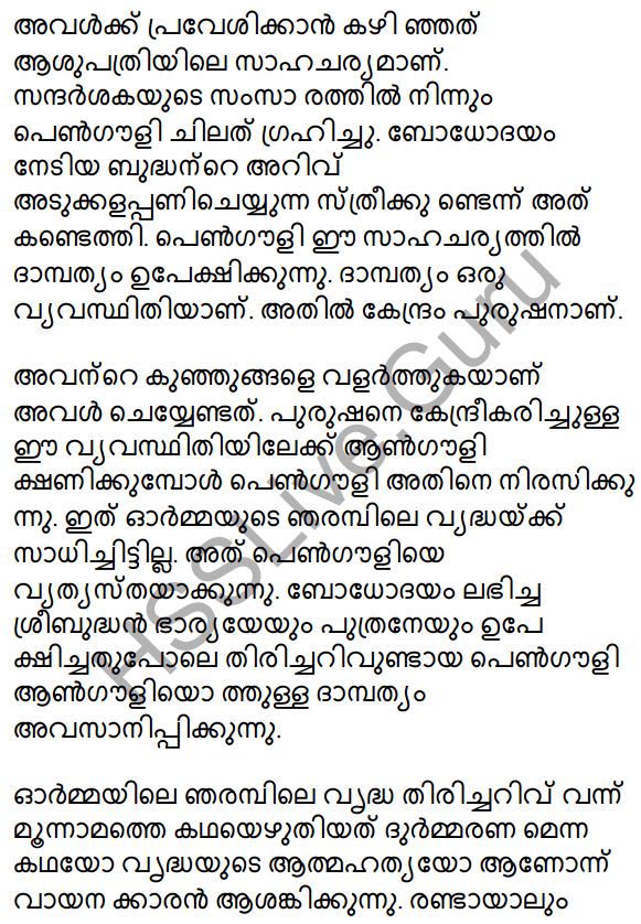 Plus Two Malayalam Textbook Answers Unit 3 Chapter 2 Gauli Janmam 48