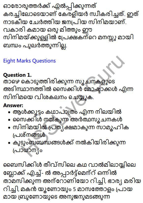 Plus One Malayalam Textbook Answers Unit 2 Chapter 3 Kazhinjupoya Kalaghattavum 6