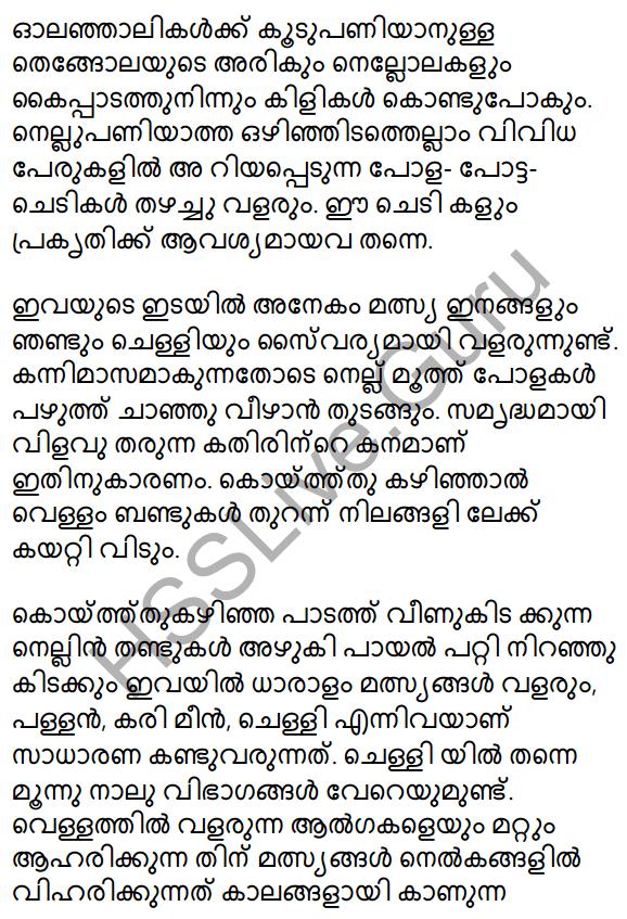 Plus One Malayalam Textbook Answers Unit 2 Chapter 4 Kaippad Kelkkunnundo 41