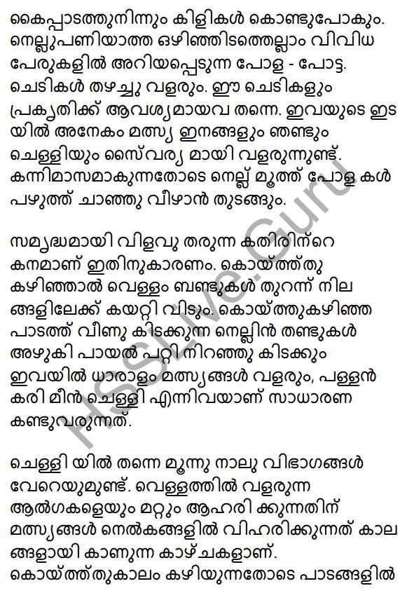 Plus One Malayalam Textbook Answers Unit 2 Chapter 4 Kaippad Kelkkunnundo 55