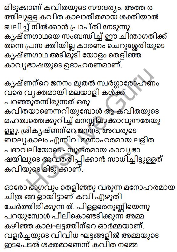 Plus One Malayalam Textbook Answers Unit 4 Chapter 1 Peeli Kannukal 13