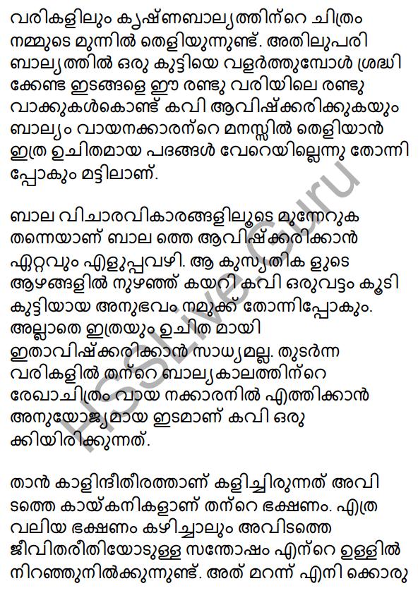 Plus One Malayalam Textbook Answers Unit 4 Chapter 1 Peeli Kannukal 19