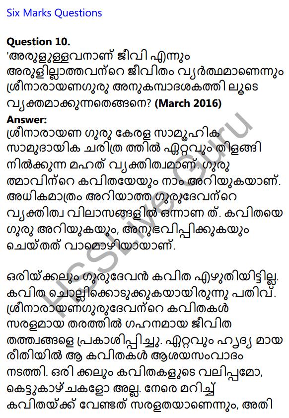 Plus One Malayalam Textbook Answers Unit 4 Chapter 2 Anukampa 21