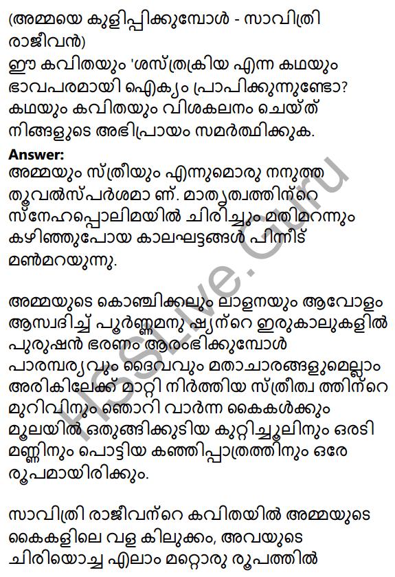 Plus One Malayalam Textbook Answers Unit 4 Chapter 6 Shasthrakriya 71