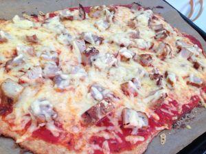 LCHF-pizza - Recept på Hssons Skaffero