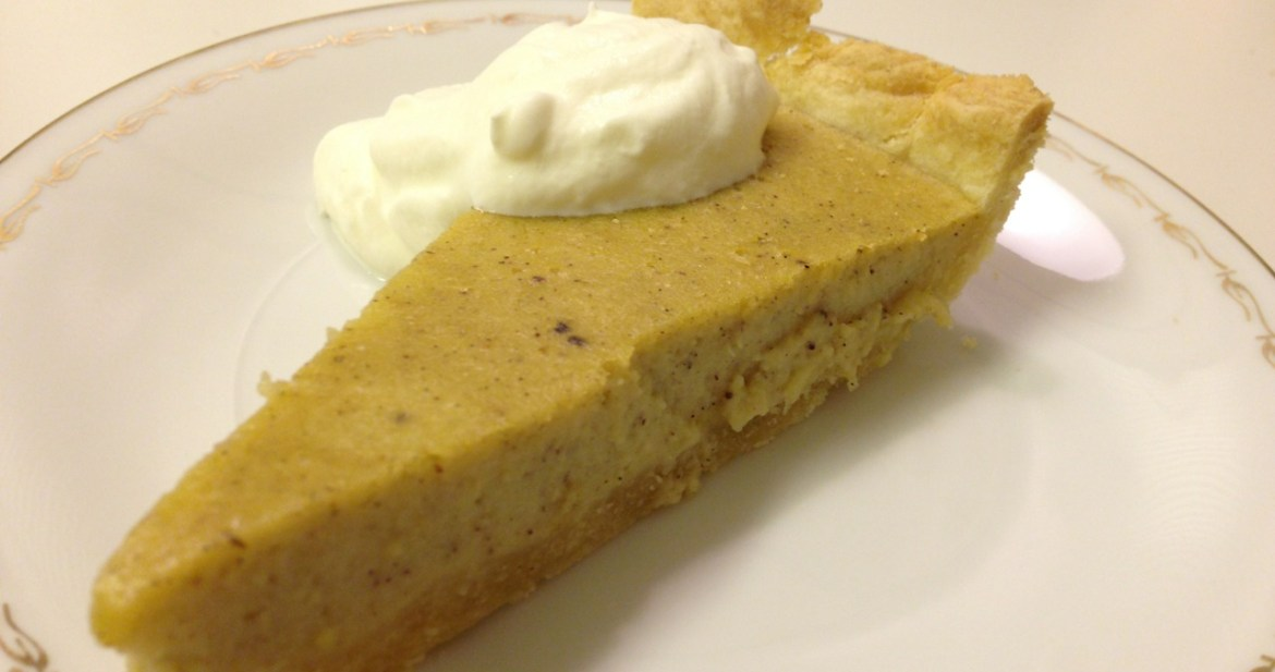 Sweet potato pie - Recept på Hssons Skafferi