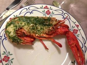 Gratinerad hummer - Recept från Hssons Skafferi
