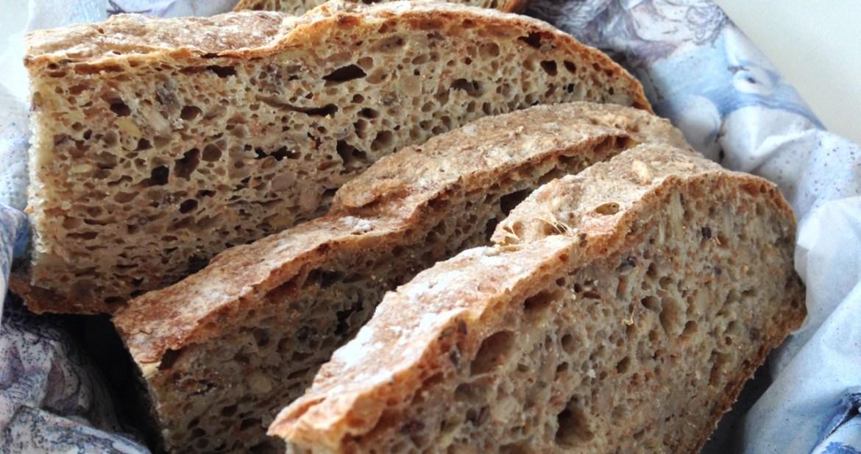 Åsas enkla bröd - Recept från Hssons Skafferi