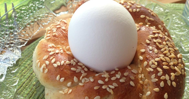 Påskäggsbröd - Recept från Hssons Skafferi