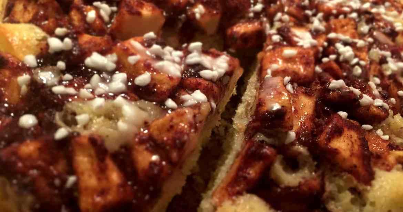 Världens godaste äppelkaka - Recept från Hssons Skafferi